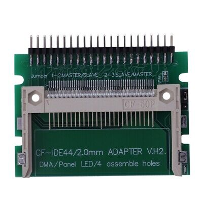 IDE 44 Pin Male to CF Compact Flash Male Adapter Connector ED