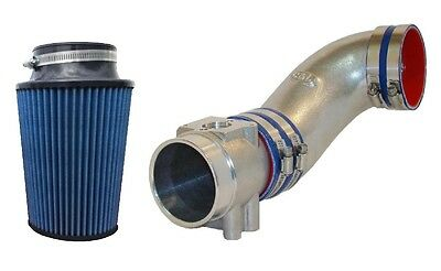 C&L 76mm 36# MAF Mass Air Flow Meter, Cold Air Intake Tube, Filter 86-93 Mustang