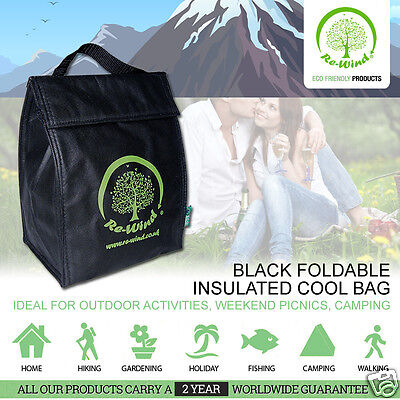 Re-Wind ECO - Friendly Food and Drink Insulated Cool Bag with Carry Handle