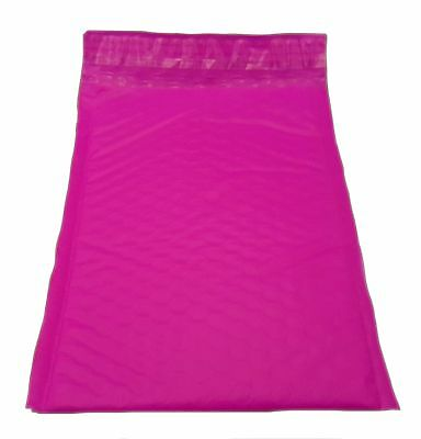 100 6x9 PINK Poly Bubble Mailer Envelope Shipping Wrap Air Mailing Bags 6x10