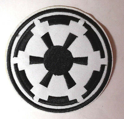 """Star Wars Imperial Forces White COG 3.25"""" Uniform Patch-FREE S&H(SWPA-FC-17)"""