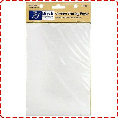 Birch Carbon Tracing Paper - Fabric Pattern Making Marking Graphite Sheet Colour