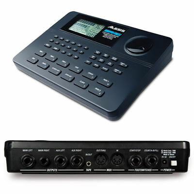 Alesis SR-16 Drum Machine Playing Music/Composition/Recording w/233 Drum Sounds