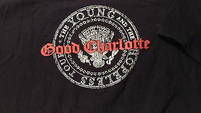 Good Charlotte The Young And The Hopeless Tour 2003 Concert T Shirt L