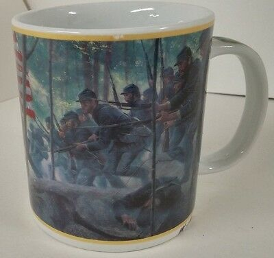 Chamberlains Charge Little Round Top Gettysburg Mug MKiinstler