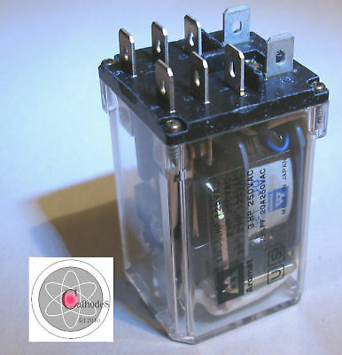 Relay, Contacts 20 Amp, Dpdt, Coil 12Vdc  Hg2-Dc12V