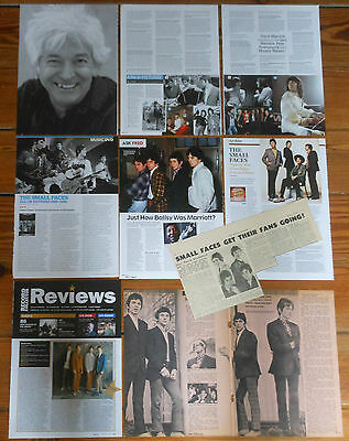 THE SMALL FACES clippings collection 1960s/00s photos magazine articles cuttings