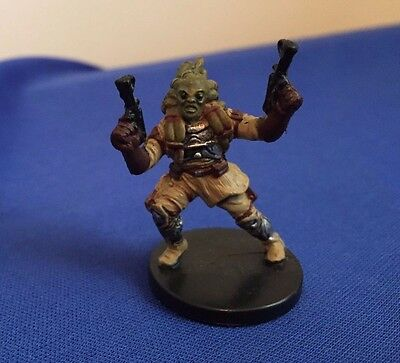 Star Wars Miniatures Revenge of the Sith #49/60 Nautolan Soldier - NC