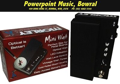 Morley MMW Mini Wah Pedal for Guitar *BRAND NEW* Only $169 + Free Shipping
