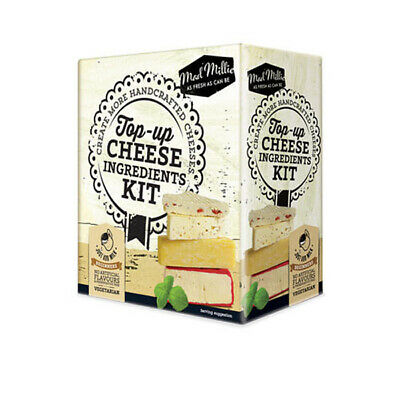 Mad Millie Top Up Cheese Ingredients Kit Cheese Making 73535