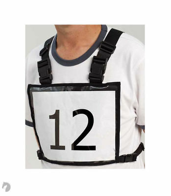 New Zilco Competition Number Holder Vest horse riding harness drivers