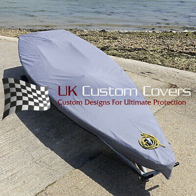 Laser Dinghy Boat Tailored Cover - Grey - 125