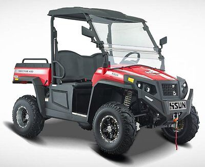 PARKLAND'S Hisun 450 Vector 4x4 Utv off road vehicle,  NEW .