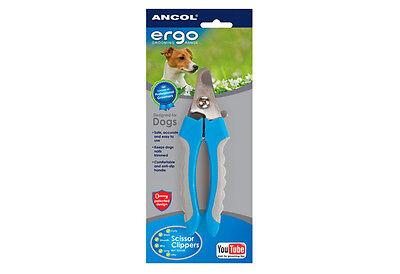 Ancol Ergo Pet Nail Clippers for Cats and Dogs in Size Small and Large