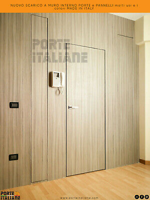 NEW flush to wall internal doors and panels many uses and colours made in Italy