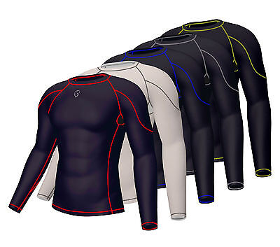 Mens Compression Base layer Shirt  Long Sleeve Under Armour Skin Top Long tight