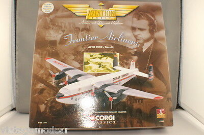 Corgi Aviation Frontier Airliners   Avro York-Dan Air  1st Issue #47203  NMIB