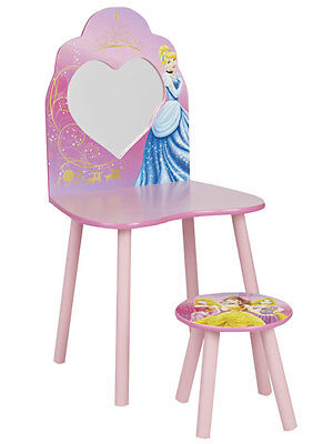 COMPLETO LETTO Disney Princess Vanity Dressing Table and Stool