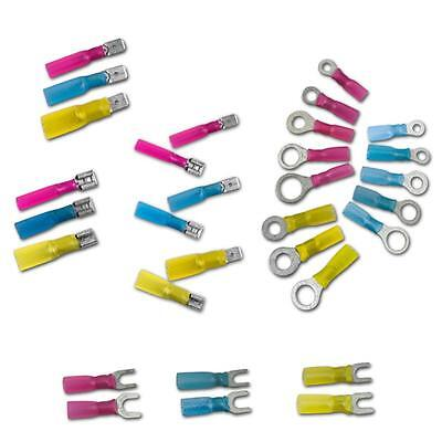shrink cable lugs + inter. adhesive cable shoes shrinkable vehicle plug connec.