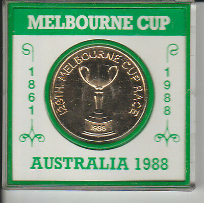 1988 128th Melbourne Cup Medallion