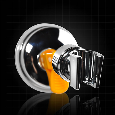 No Drilling Attachable Shower Hand Head Holder Bracket Mount Suction Cup Adjust