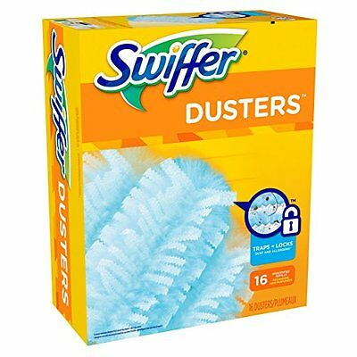 Swiffer Disposable Cleaning Dusters Refills Unscented 16 Count Packaging
