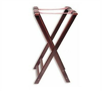 Thunder Group DOUBLE BAR WOOD TRAY STAND (MAHOGANY) WDTHTS032 Bar Accessories