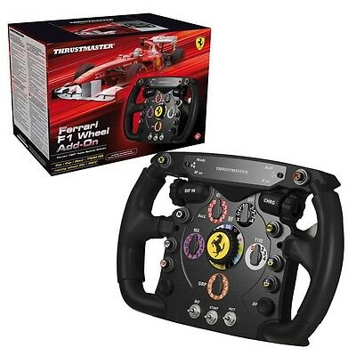 THRUSTMASTER Ferrari F1 Wheel Add-On PC/PS3/PS4/Xbox One GARANZIA ITALIA