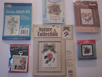 Crewel Embroidery Needlepoint & Yarn Kits Sealed Sold Separately Collectibles