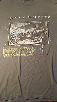 Jimmy Buffett 1995 Barometer Soup Concert T Shirt XL