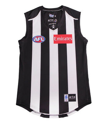 AFL Collingwood Magpies Football Jumper Guernsey Jersey Size S-3XL