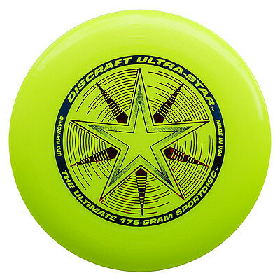 Discraft Ultrastar Disc 175g - Ultimate Frisbee Disc!-UV Yellow