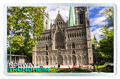 Trondheim Norway Mod2 Fridge Magnet Souvenir Iman Nevera