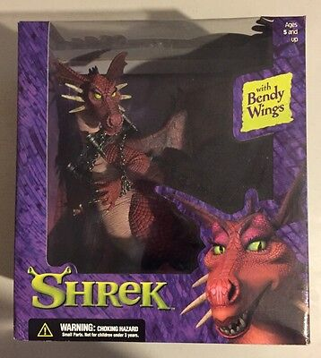 MISB Shrek The Dragon With Bendy Wings Mcfarlane Toys NEW