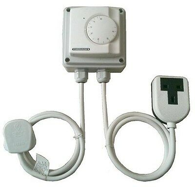 FAN TEMPERATURE CONTROLLER Cool thermostat for hydro hydroponics grow tent etc..