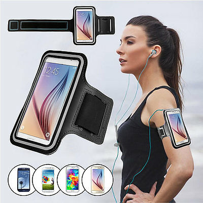 For Samsung Galaxy S6/S6 Edge Running Jogging Gym Exercise Sports Armband Case