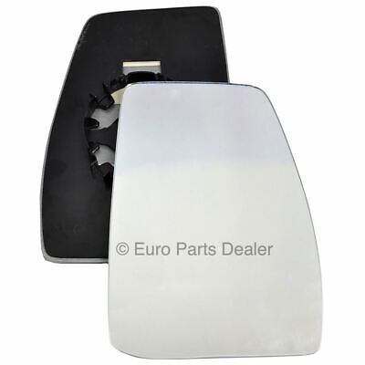 Driver Side WING DOOR MIRROR GLASS Ford Transit Custom 2012-On Clip On -Right