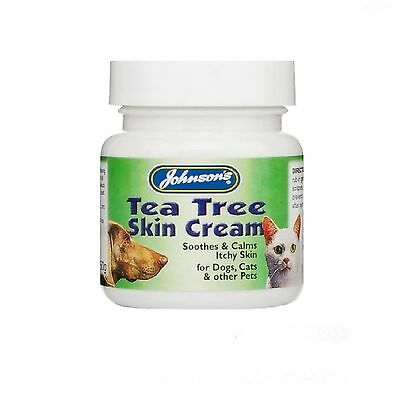 Johnsons Tea Tree Antiseptic Skin Cream 50g  - Posted Today if Paid Before 1pm
