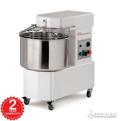 Spiral Mixer 33 Litre Fixed Head Fixed Bowl Economy Pizza Model Dough Equipment