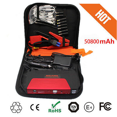 AU Portable 50800mAh Vehicle Car Jump Starter Booster Battery Power Bank Charger
