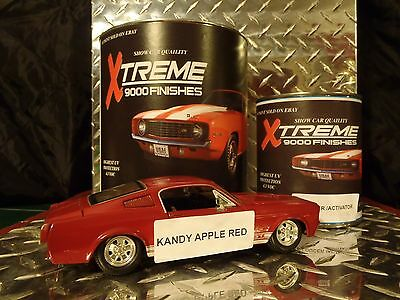Auto Paint Urethane Kandy Apple Red  Single Stage... Free Shipping