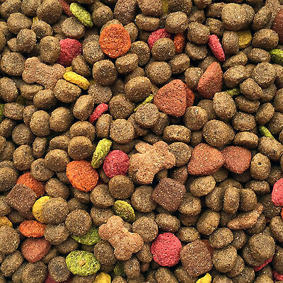 30Kg 2 x 15Kg Premium Working Dog Food Meaty Mix Complete with Veg & Chicken Oil