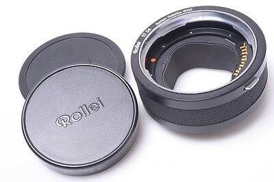 Rolleiflex Et34, 34Mm Extension Macro Ring, Tube For Leaf Afi, Hy6, 6000 Series
