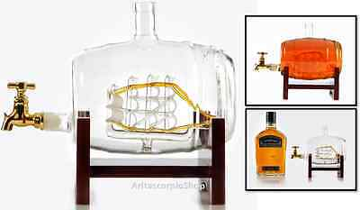 Liquor Beverage Dispenser Glasses Whiskey Drink Wine Decanter Beer Machine Gift