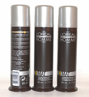 Loreal - Homme Mat Paste 3x80ml