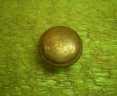 "Vintage 1 1/4"" Round Brass Drawer Pull                           ( 3275)"