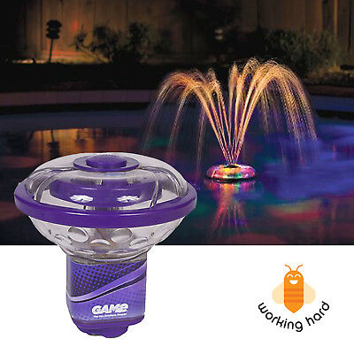SWIMMING POOL FOUNTAIN LIGHT Floating Underwater LED Decor ...