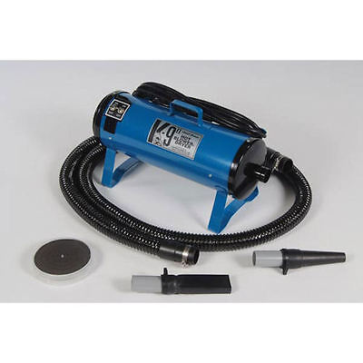 K-9 II - Variable Speed Dryer, 110 Volts, Blue