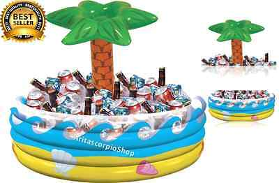 Inflatable Ice Cooler Drink Bar Food Server Summer Beach Outdoor Party Picnic