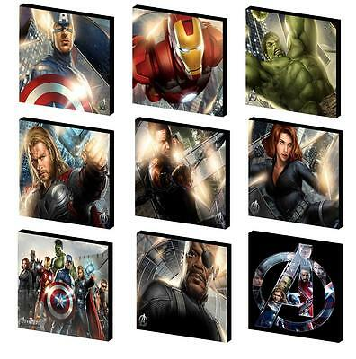 Avengers Character Canvas Wall Art Plaque/picture - You Choose 3